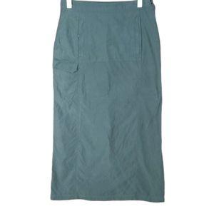 🍄3/45$🍄 Orage gray maxi skirt size 10